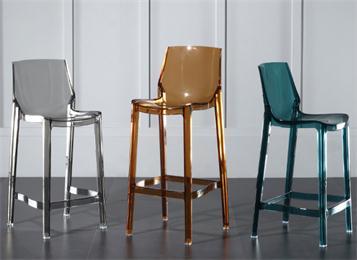 北欧透明吧台椅吧椅高脚凳亚克力高脚椅
