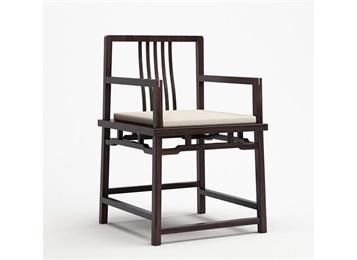 中式仿古优质实木圈椅禅意中餐厅椅子