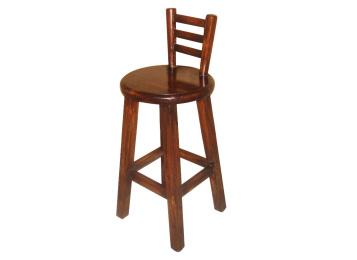 优质实木炭化酒吧凳家具