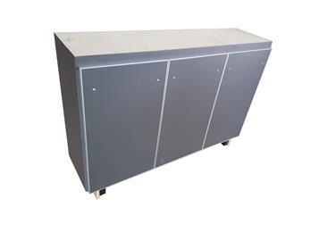 现代简约实木备餐柜