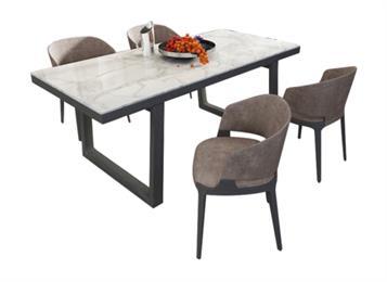 北欧大理石台面桌子