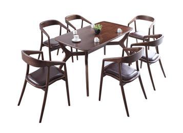 钱柜娱乐网站_北欧实木餐桌椅组合