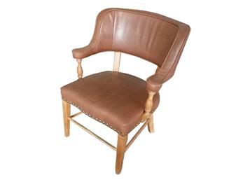 北欧英伦椅子 实木北欧休闲椅 简约餐椅咖啡休闲