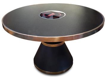 餐厅大理石桌面一体电磁