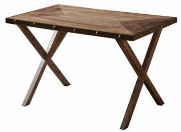 现代简约工业复古北欧原木餐桌