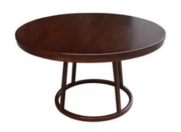 餐馆饭店包厢实木桌子