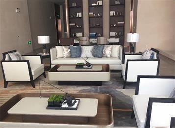 别墅豪宅会所新中式沙发