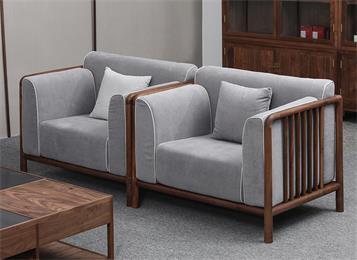 高档会所中式休闲沙发