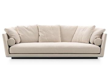 养生会所意式科技布免洗双人位沙发