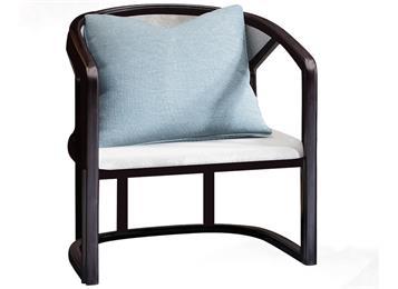 新中式实木椅禅意酒店别