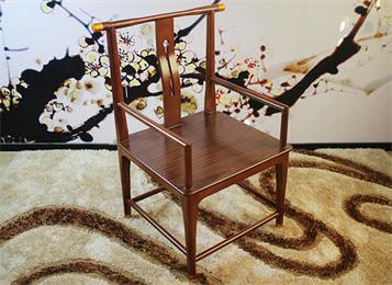 现代中式古典会所椅子