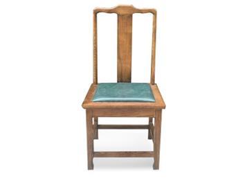 茶餐厅休闲会所茶楼餐厅实木椅子