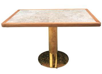 会所休闲餐桌-不锈钢钢