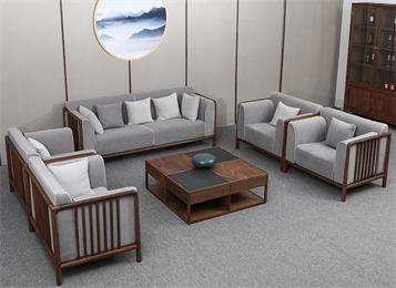会所别墅大厅高级新中式家具