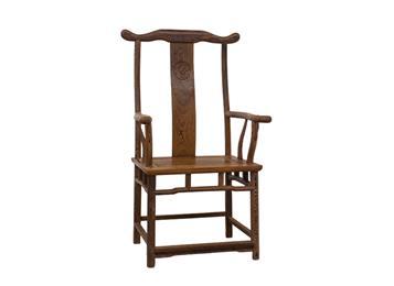 实木中式仿古火锅店官帽椅 圈椅