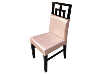 新中式纯实木软包火锅店椅子