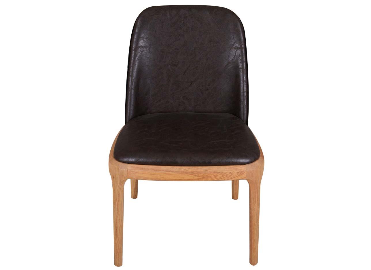 现代简约水曲柳实木火锅椅子
