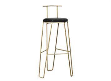 北欧现代吧台椅 简约铁艺吧椅