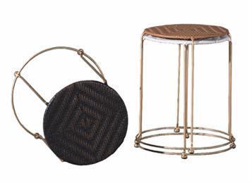 椭圆形藤椅 休闲铁艺椅子