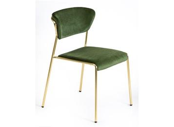 现代简欧不锈钢餐椅轻奢金属椅