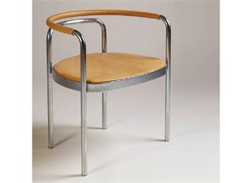 西餐厅不锈钢创意简约靠背椅
