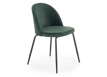 小清新甲壳虫简约靠背软包金属椅