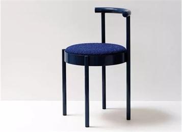 美式风简约休闲椅金属西餐厅椅子
