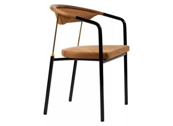 咖啡厅现代特色极简金属靠背餐椅