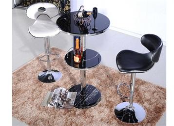 美式现代简约不锈钢酒吧吧台家具