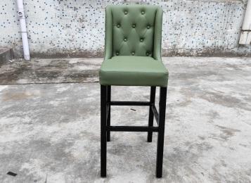 个性酒吧休闲高腿靠背椅子