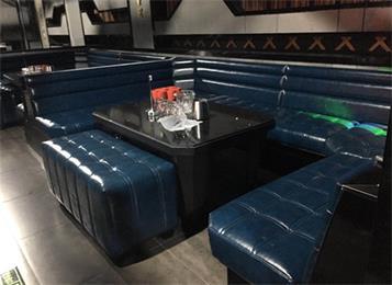 创意慢摇吧酒吧休闲酒吧沙发桌椅