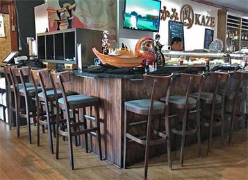 酒吧大理石吧台_实木酒吧吧椅