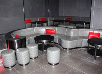 酒吧茶几软包沙发凳子