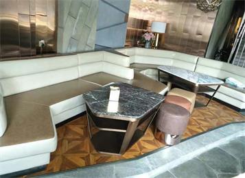 现代酒吧茶几沙发家具