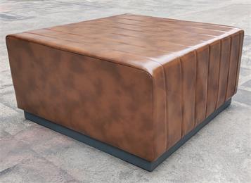 酒吧ktv包厢软包方凳无扶手沙发