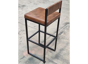 酒吧高腿椅子_酒吧铁艺休闲椅