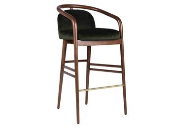 实木高脚酒吧椅_美式仿古酒吧高腿椅