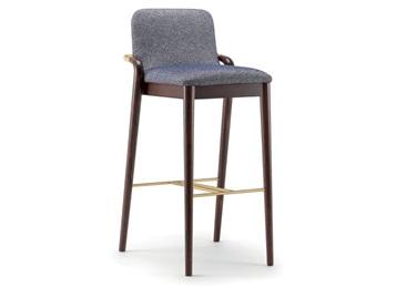 休闲吧木质座椅_主题清