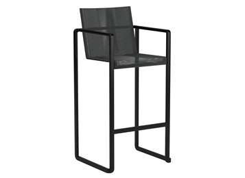 酒吧休闲靠背椅子_铁艺