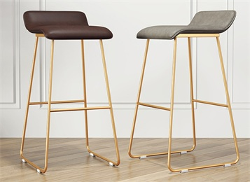 现代简约不锈钢吧台椅高脚凳吧台凳