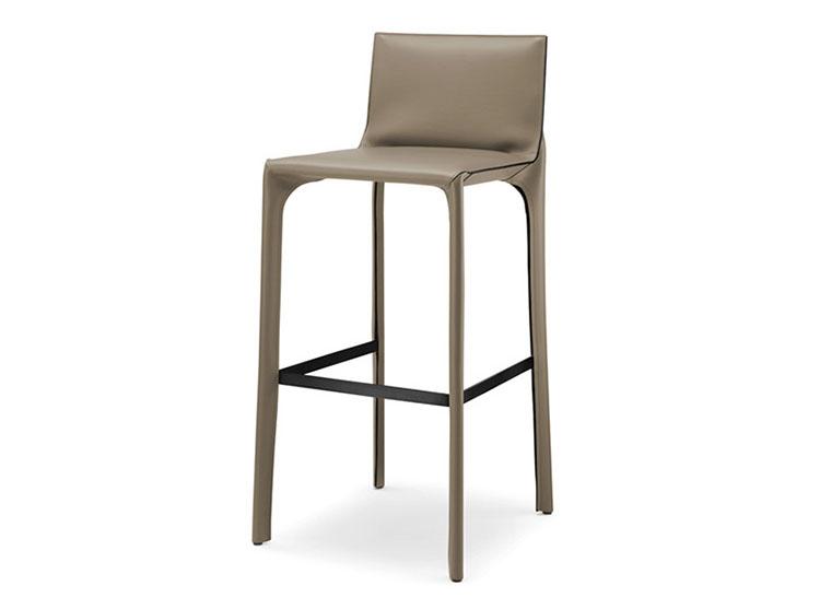 北欧现代极简马鞍吧椅创意高脚凳吧台椅娱乐酒