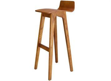 简约创意酒吧椅高脚椅吧凳实木高脚凳