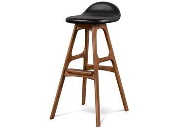 北欧吧台椅高脚椅实木吧椅简约创意高脚凳酒吧