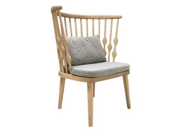 北欧围椅实木温莎圈椅