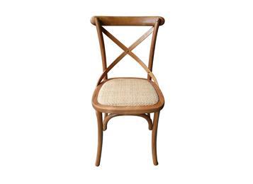 钱柜娱乐官方网站【首页】_美式乡村风格咖啡厅背叉椅/实木餐椅/交叉椅