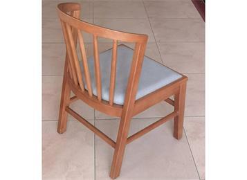 2019新款时尚休闲餐厅实木椅子