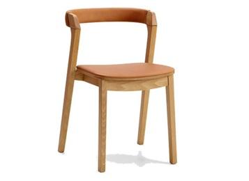 美式乡村实木咖啡厅简约靠背椅子