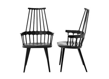 现代简约创意个性全实木咖啡椅