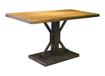 钱柜娱乐官方网站【首页】_复古怀旧美式铁艺咖啡厅实木桌