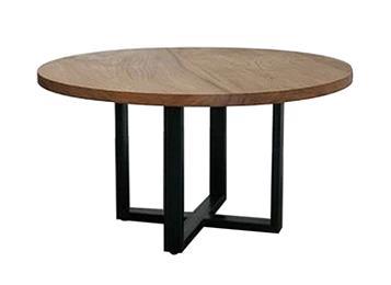 钱柜娱乐网站,钱柜娱乐官方网站_美式实木做旧咖啡店大圆餐桌